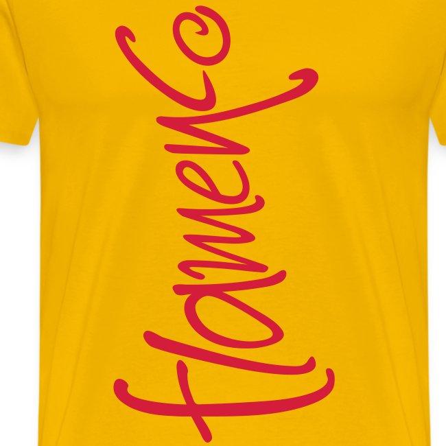 "Tee shirt Homme ""Flamenco"""