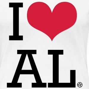 I LOVE AL - Frauen Premium T-Shirt