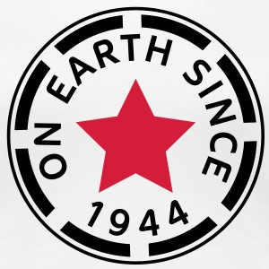 on earth since 1944 (de) T-Shirts - Frauen Premium T-Shirt