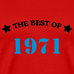 The best of 1971 T-shirts - Mannen Premium T-shirt