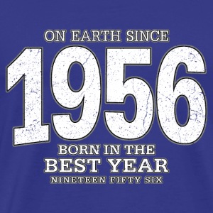 On Earth since 1956 (white oldstyle) - Männer Premium T-Shirt