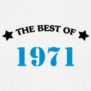The best of 1971 T-shirts - T-shirt herr