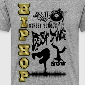 hip hop street school best dance T-Shirts - Men's Premium T-Shirt