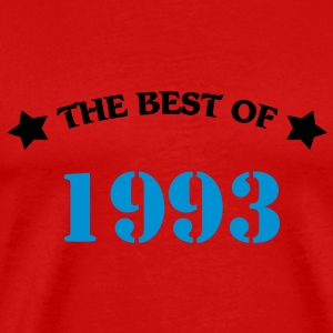 The Best of 1993 T-skjorter - Premium T-skjorte for menn