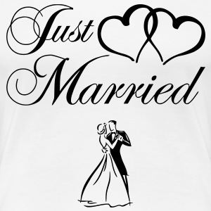 just_married_couple Tee shirts - T-shirt Premium Femme