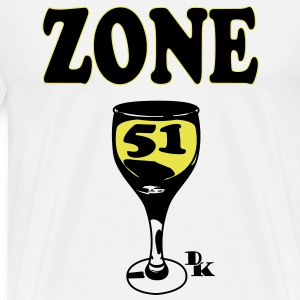 zone 51 vect by dk Tee shirts - T-shirt Premium Homme