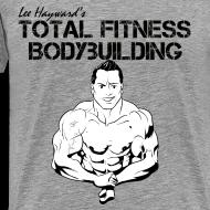 Design ~ Lee Hayward Cartoon Muscle Classic-Cut T-shirt