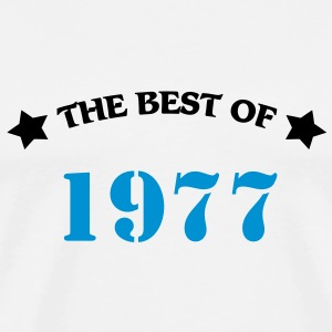 The best of 1977 T-skjorter - Premium T-skjorte for menn
