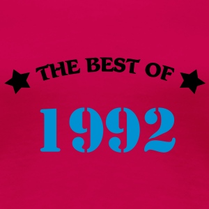 The Best of 1992 Camisetas - Camiseta premium mujer
