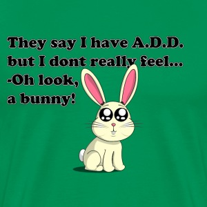 ADD bunny T-shirts - Mannen Premium T-shirt