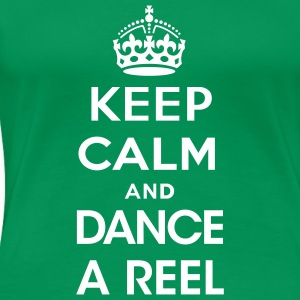 dance_a_reel T-Shirts - Frauen Premium T-Shirt