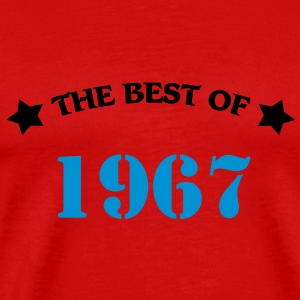 The best of 1967 T-shirts - Herre premium T-shirt