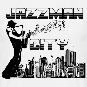 jazzman city T-Shirts - Men's T-Shirt
