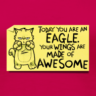 Design ~ Peppy: 'You are an Eagle'