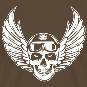 Flying Skull - Men's Premium T-Shirt