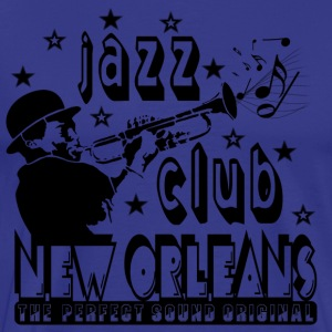 jazz club new orleans the perfect sound original T-Shirts - Men's Premium T-Shirt