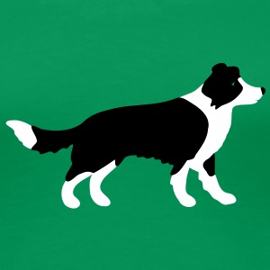 Border Collie  T-shirts - Premium-T-shirt dam
