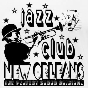 jazz club new orleans the perfect sound original T-Shirts - Women's Premium T-Shirt
