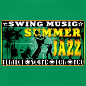 swing music summer jazz T-Shirts - Women's Premium T-Shirt