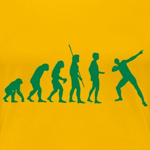 Evolution Usain Bolt T-shirts - Vrouwen Premium T-shirt