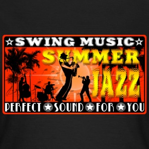 swing music summer jazz T-Shirts - Women's T-Shirt