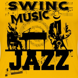 swing music jazz T-Shirts - Women's Premium T-Shirt
