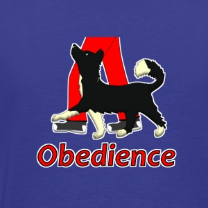 Obedience 1 Border Collie 1 T-shirt - Maglietta Premium da uomo