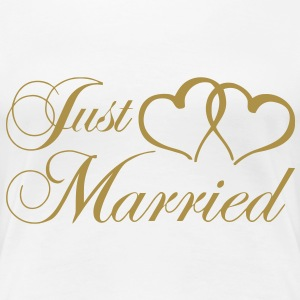just_married_coeur Tee shirts - T-shirt Premium Femme