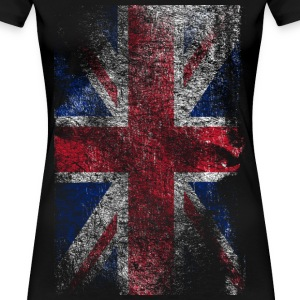 union jack - used look Tee shirts - T-shirt Premium Femme