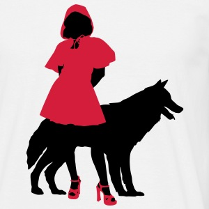 Red Riding Hood Tee shirts - T-shirt Homme