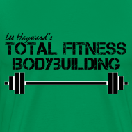 Design ~ Total Fitness Bodybuilding Barbell Classic-Cut T-shirt