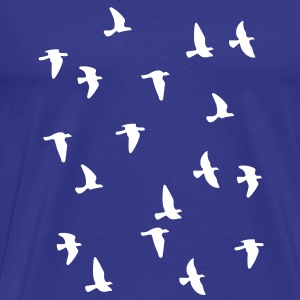 Bird Flock T-Shirts - Men's Premium T-Shirt