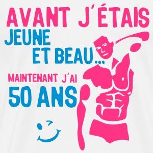 Tee shirt humoristique homme 50 ans - Animation anniversaire 60 ans femme ...