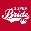 SUPER Bride Crown T-Shirt WR - Vrouwen Premium T-shirt