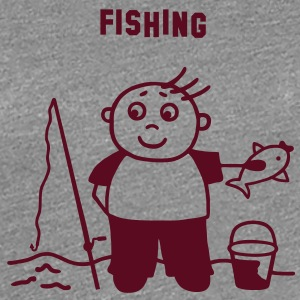 Fishing T-Shirts - Women's Premium T-Shirt