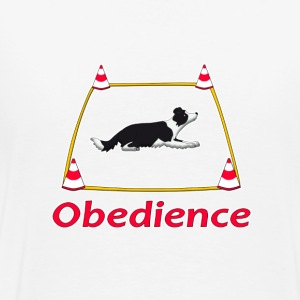 Obedience Border Collie 2 Tee shirts - T-shirt Premium Homme