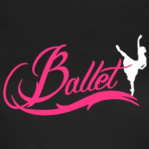ballet T-Shirts - Frauen T-Shirt