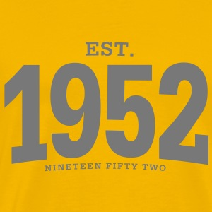 EST. 1952 Nineteen Fifty Two - Männer Premium T-Shirt
