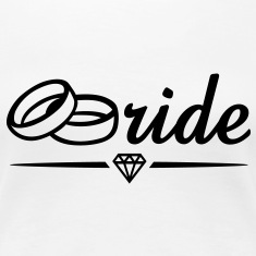 Bride Diamond T-Shirt BW