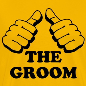 I´m the groom - Men's Premium T-Shirt