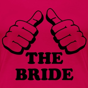 I am the bride - Women's Premium T-Shirt