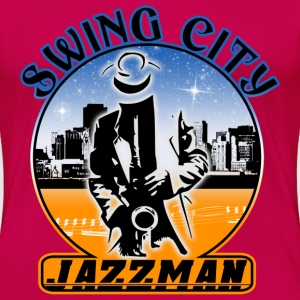 swing city jazzman T-Shirts - Women's Premium T-Shirt