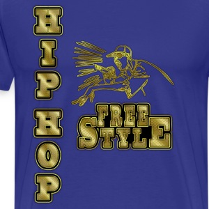hip hop freestyle Tee shirts - T-shirt Premium Homme