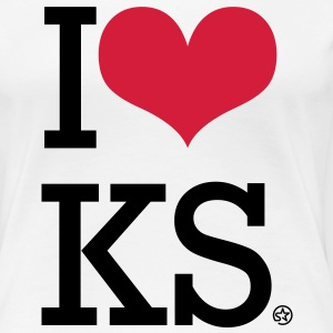I LOVE KS T-Shirts - Women's Premium T-Shirt
