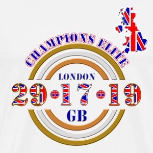 champions elite british athletics T-Shirts - Men's Premium T-Shirt