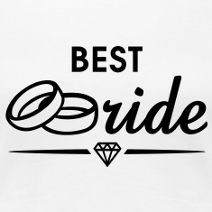 BEST Bride Diamond T-Shirt BW