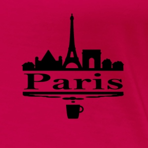 Paris T-shirt - Frauen Premium T-Shirt