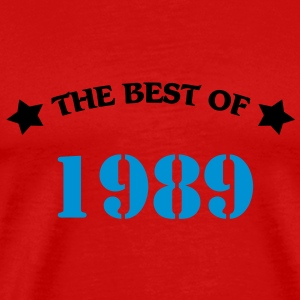 The best of 1989 T-shirts - Premium-T-shirt herr