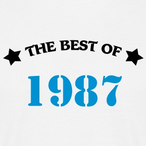 The best of 1987 T-shirts - Herre-T-shirt