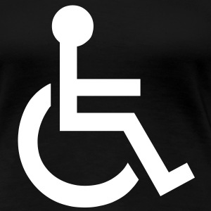 Disabled Wheelchair Symbol T-Shirts - Women's Premium T-Shirt